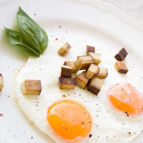 Platz 2: Eier